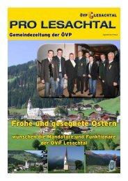 PRO LESACHTAL - ÖVP Kärnten
