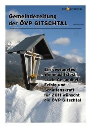 Winter 2010 - ÖVP Kärnten