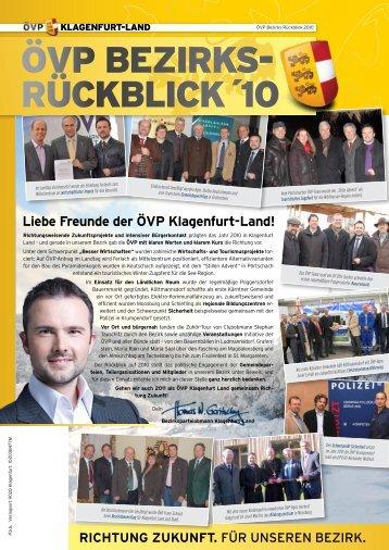 ÖVP Bezirks- rückBlick ´10