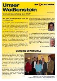 Sommer 2010 - ÖVP Kärnten