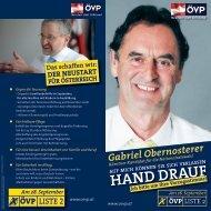 Obernosterer Gabriel - ÖVP Kärnten