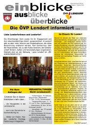 Herbst 2010 - ÖVP Kärnten