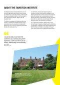 1. Leicester Brochure 2013 - The Tavistock Institute - Page 6