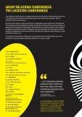 1. Leicester Brochure 2013 - The Tavistock Institute - Page 7