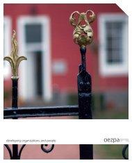 IMAGE Broschüre.fh10 - oezpa GmbH