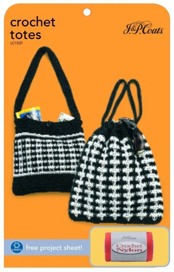 Download Your Free Anchor Crochet Bag Pattern Coats Crafts Uk