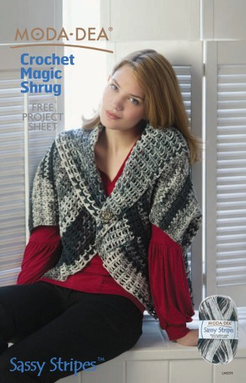 Crochet Magic Shrug - Coats & Clark