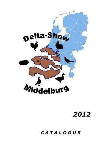 Omslag voorzijde catalogus - Delta-Show