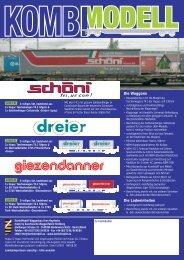 Neuheiten 2010 - Schweizer Modelle - EYRO Modellbahn GmbH