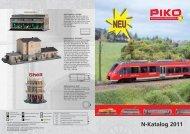 N Neuheitenprospekt 2011 - EYRO Modellbahn GmbH
