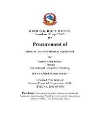 View - Logistics Management Division
