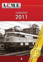 Catalogo ACME 2011-copertina.qxd - Modellismo ferroviario