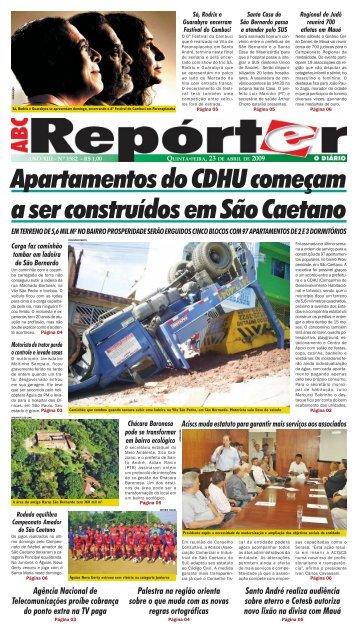 Apartamentos do CDHU começam a ser construídos em São Caetano