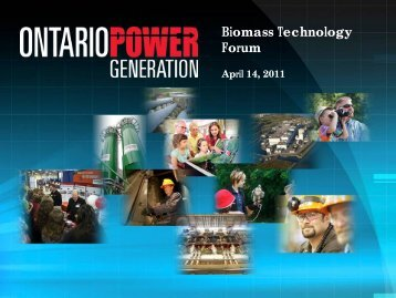 Biomass Technology Forum - Ontario Federation of Agriculture