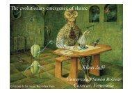 The evolutionary emergence of shame Klaus Jaffé ... - OFAI