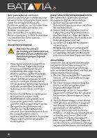 Bedienungsanleitung Digitale Wasserwaage - 416 mm mit HG-Beleuchtung - Seite 4