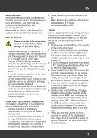 Bedienungsanleitung Digitale Wasserwaage - 416 mm mit HG-Beleuchtung - Seite 7