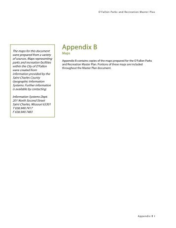 Appendix B: Maps (Web-optimized) - City of O'Fallon