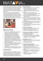 Bedienungsanleitung GIRAFFE 2.61m Teleskopleiter - TÜV/GS - Seite 6