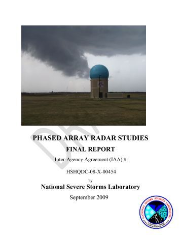 phased array radar thesis Antennas, and discusses the advantages of passive phased array antennas for radar systems 2 types of phased arrays passive phased arrays for radar antennas.