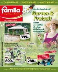 Garten & Freizeit Großes Sonderheft! Riesen - Famila