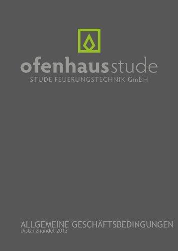 Dokument herunterladen - Ofenhaus Stude