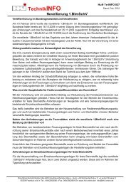 TechnikINFO Novellierung 1.BImSchV - Koppe