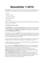 Newsletter 1-2010 - Off-script.com