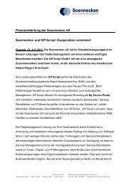 Pressemitteilung der Soennecken eG Soennecken ... - Off-script.com