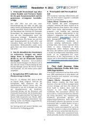 Newsletter 4-‐ 2011 - Off-script.com