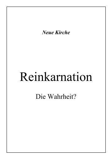 Reinkarnation, Ja oder Nein - Offenbarung