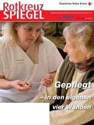 Rotkreuz-Spiegel 2009-4 - DRK Landesverband Niedersachsen