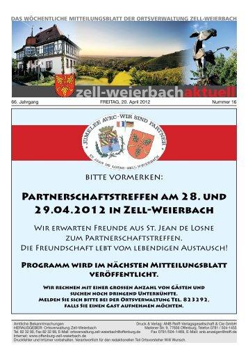 Mitteilungsblatt kw 16-2012.pdf - Zell-Weierbach