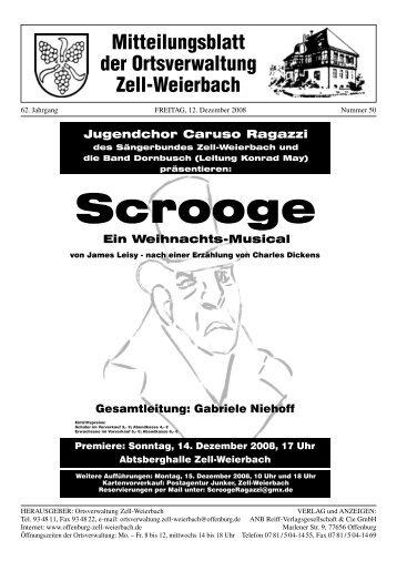 Scrooge - Zell-Weierbach