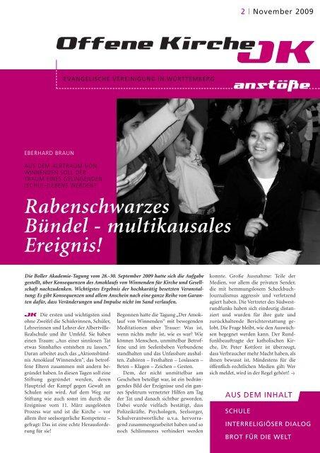 Heft 2/2009 - Offene Kirche Württemberg