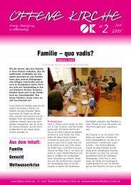 Heft 2/2005 - Offene Kirche Württemberg