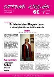 Heft 4/2004 - Offene Kirche Württemberg