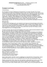 Predigt von Pfr. i.R. Eberhard Braun zu Amos 5.21-24