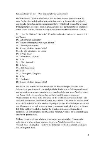 090214 Werte Pluralismus - Offene Kirche Württemberg