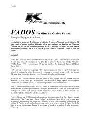 Fados - Festivals