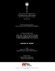 Camion - K-Films Amérique