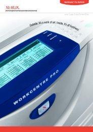 WorkCentre Pro 35/45/55 Product Brochure (PDF, 564 KB) - Xerox