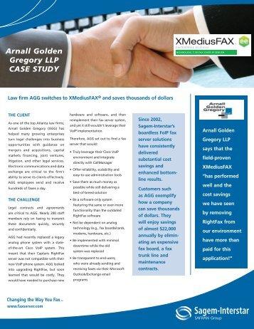 Arnall Golder Gregory LLP - Xerox