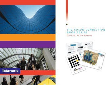 THE COLOR CONNECTION BOOK SERIES - Xerox