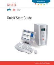 Quick Start Guide - Xerox