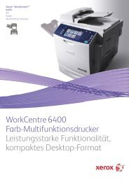 WorkCentre 6400 - Xerox