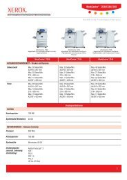 WorkCentre 7228/7235/7245 Detailed Specifications (PDF) - Xerox