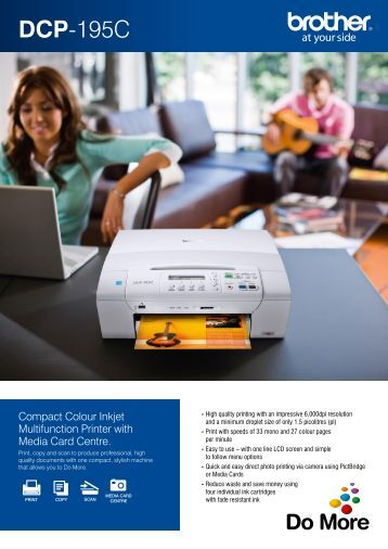 Brother DCP195C Printer Inkjet - Office Printers