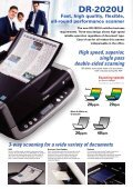 Canon DR2020U Scanner Brochure - Office Printers - Page 2