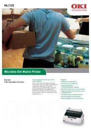 ML1120 Microline Dot Matrix Printer - Office Printers
